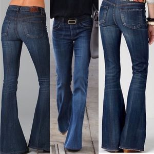 CITIZENS OF HUMANITY ANGIE SUPER FLARE JEANS 28